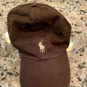 Polo hat, brown